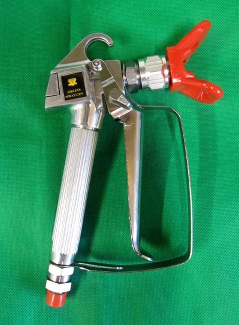 LX80 Airless Paint Spray Gun fitted with Holder  Airless Sprayer gun 3600psi