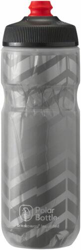 20oz Charcoal//Silver Polar Bottles Breakaway Bolt Insulated Water Bottle