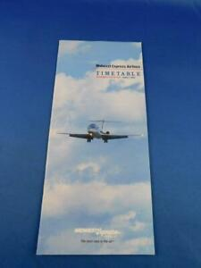 MIDWEST-EXPRESS-AIRLINES-TIMETABLE-SCHEDULE-JUNE-1982-ADVERTISING-TRAVEL