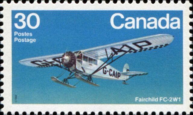 Canada Scott 969 Fairchild FC-2W1 VF-80 MNH OG (20595)