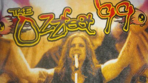 "OZZY OSBOURNE -""RARE"" 1999 OZZFEST TYE DYE"