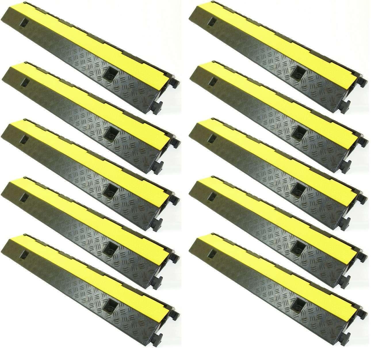 10 x 1 canali auto camion sulla protezione di guida eco Cavo Ponte Cavo Protezione conduttura rampa