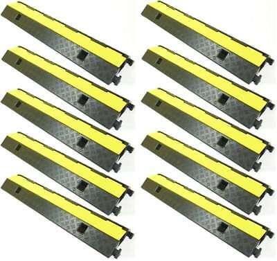 Baustellengeräte & -ausrüstung 10 X 1 Kanal Pkw Lkw Überfahrschutz Eco Kabelbrücke Kabelschutz Kabelkanal Rampe