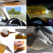 Car Anti Glare Dazzling Goggle Day & Night Vision Mirror Shield Sun Visor JNEG