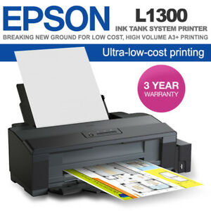 Details about Brand New Epson L1300 A3 Ink Tank Printer