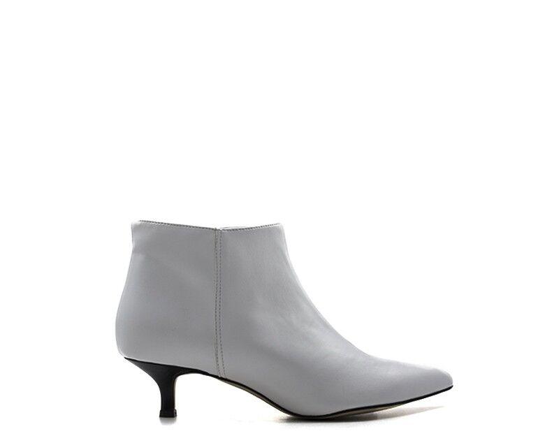 shoes blackFUMO women Tronchetti  BIANCO Pelle naturale YSA496-BN