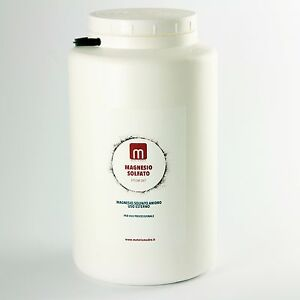 Solfato magnesio sali di epsom sali da bagno in barattolo 5 kg ebay - Sali di epsom bagno ...