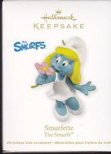 2011 Dated Hallmark Smurfette The Smurfs Ornament