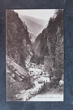 Carte postale ancienne Gorges de l'Arly