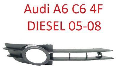 Stoßstangen Gitter vorne links für Audi A6 4F C6 Bj 04-08 Dieselmodelle