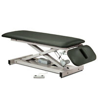 Treatment Exam Table Power Height Drop Section Space Saver Gunmetal