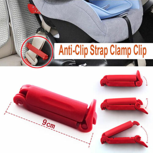 Child Car Seat Baby Auto Safety Kits Belt Fitted Non AntiClip Strap Clamp HV