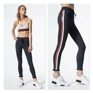 THE UPSIDE | Womens Frill Midi Leggings [ Size S or AU 10 / US 6 ]