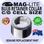 MAGLITE C D CELL GENUINE BULB RETAINER COLLAR SPARE PARTS FLASHLIGHT AU DELIVERY