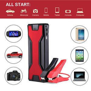18000mah 600a 12v auto jump starter batterie car starthilfe akku power bank ebay. Black Bedroom Furniture Sets. Home Design Ideas