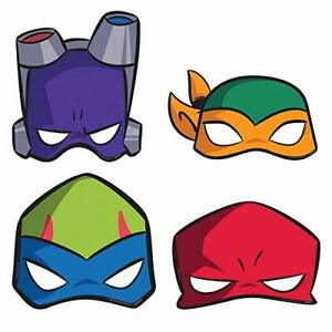 RISE-TMNT-Party-8-Paper-Masks-Teenage-Mutant-Ninja-Turtles-Costume-Dress-up-Room
