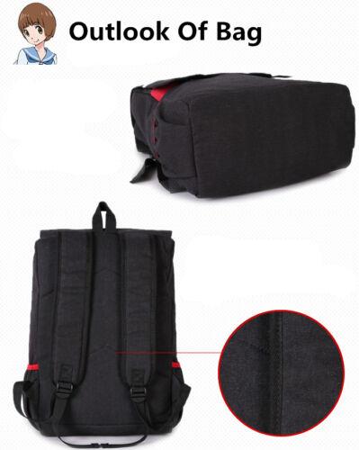 Anime KILL la KILL Student School Backpack Canvas Shoulder Messenger Bag
