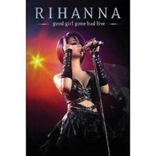 """RIHANNA """"GOOD GIRL GONE BAD LIVE"""" DVD NEUWARE"""