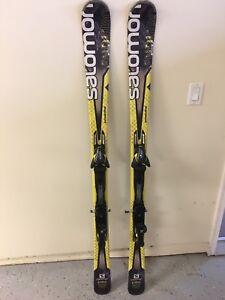 SALOMON ENDURO XT 850 Adult Demo Skis 163 cm Used