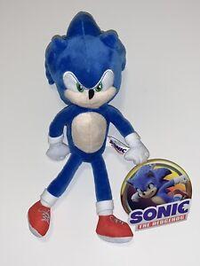 11 Sonic The Hedgehog 2020 Official Sega Licensed Movie Plush Ebay