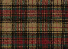 1693/19 Scottish Tartan Fabric 100% Pure Wool By The Metre Plaid Checked