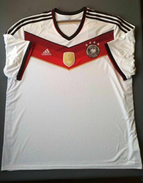 Germany Jersey 2014 World Cup Home XXL Shirt adidas Football ...