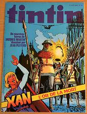 BD Comics Magazine Hebdo Journal Tintin No 33 33e 1978 Xan L'or de la Mort