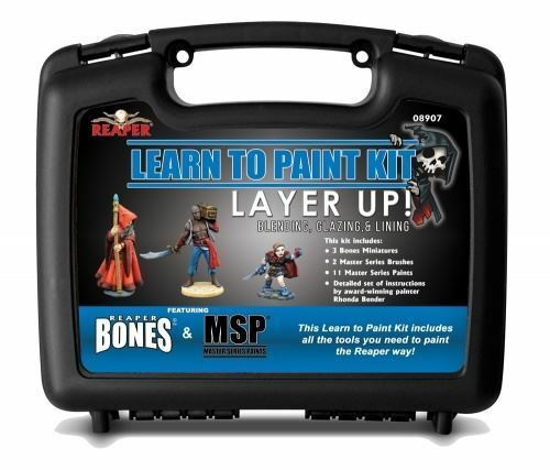 Reaper Miniatures Learn To Paint Kit - Layer Up