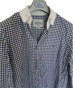 Mens-MAN-by-VIVIENNE-WESTWOOD-long-sleeve-shirt-size-II-medium-RRP-260