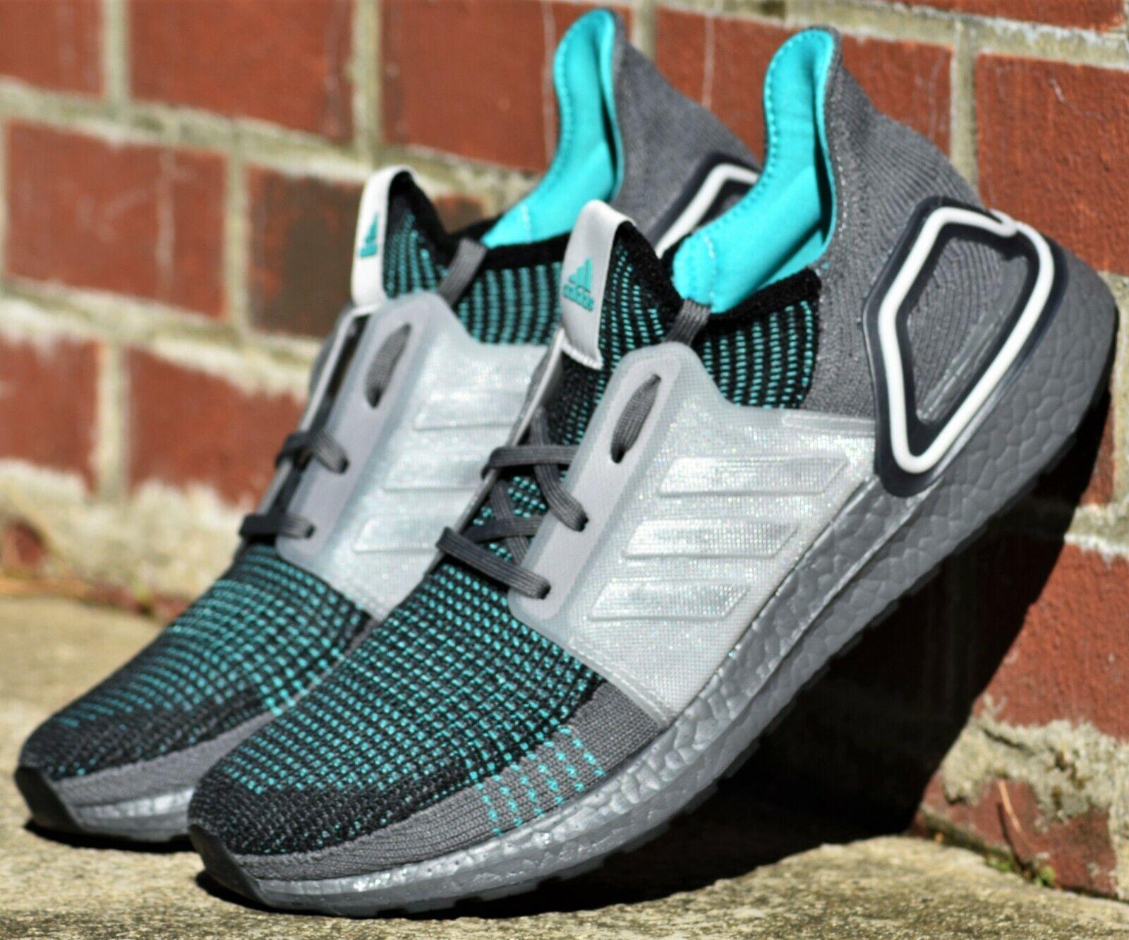 adidas boost running shoes mens black