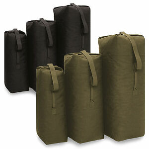 US Army Style Military Cotton Duffle Laundry Travel