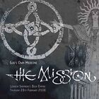 The Mission God's Own Medicine Limited Edition Clear Vinyl 2lp