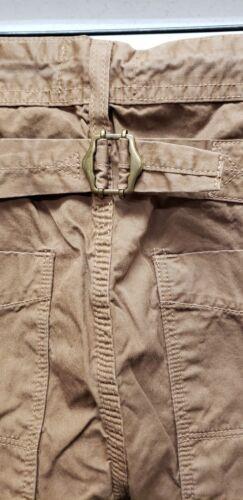 Wrangler blue bell men/'s vintage slim fit  buckle back overal pants made in usa