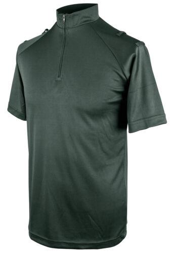 Niton Tactical à manches courtes évacuant Polo Shirt-midnight green