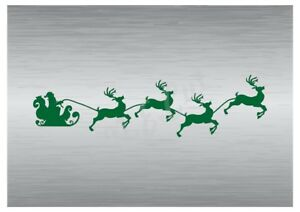 Christmas-Santa-039-s-Sled-stencil-4-A5-to-A0-14cm-to-1-2-meters-or-bigger-CMAS094