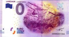 24 LASCAUX Le grand taureau, 2016, Billet 0 € Souvenir