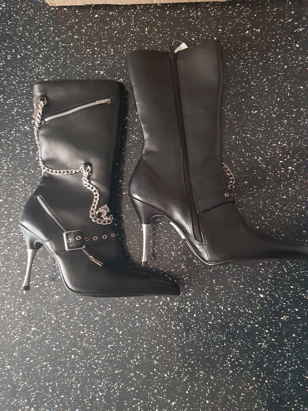 Goszip high heel boots 5