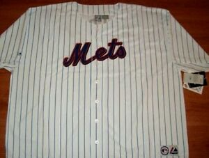 David-Wright-New-York-Mets-Jersey-6XL-Pinstripes-Home-Majestic-MLB