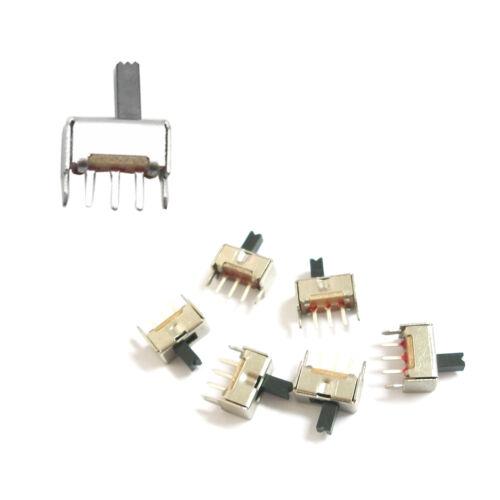 20-pc-3-Pin-PCB-2-Position-SPDT-1P2T-Miniature-Vertical-Slide-Switch-SS12D07-VG4