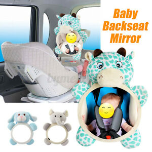 Animal Car Baby Back Seat Rear View Mirror for Infant Child Toddler Safety View