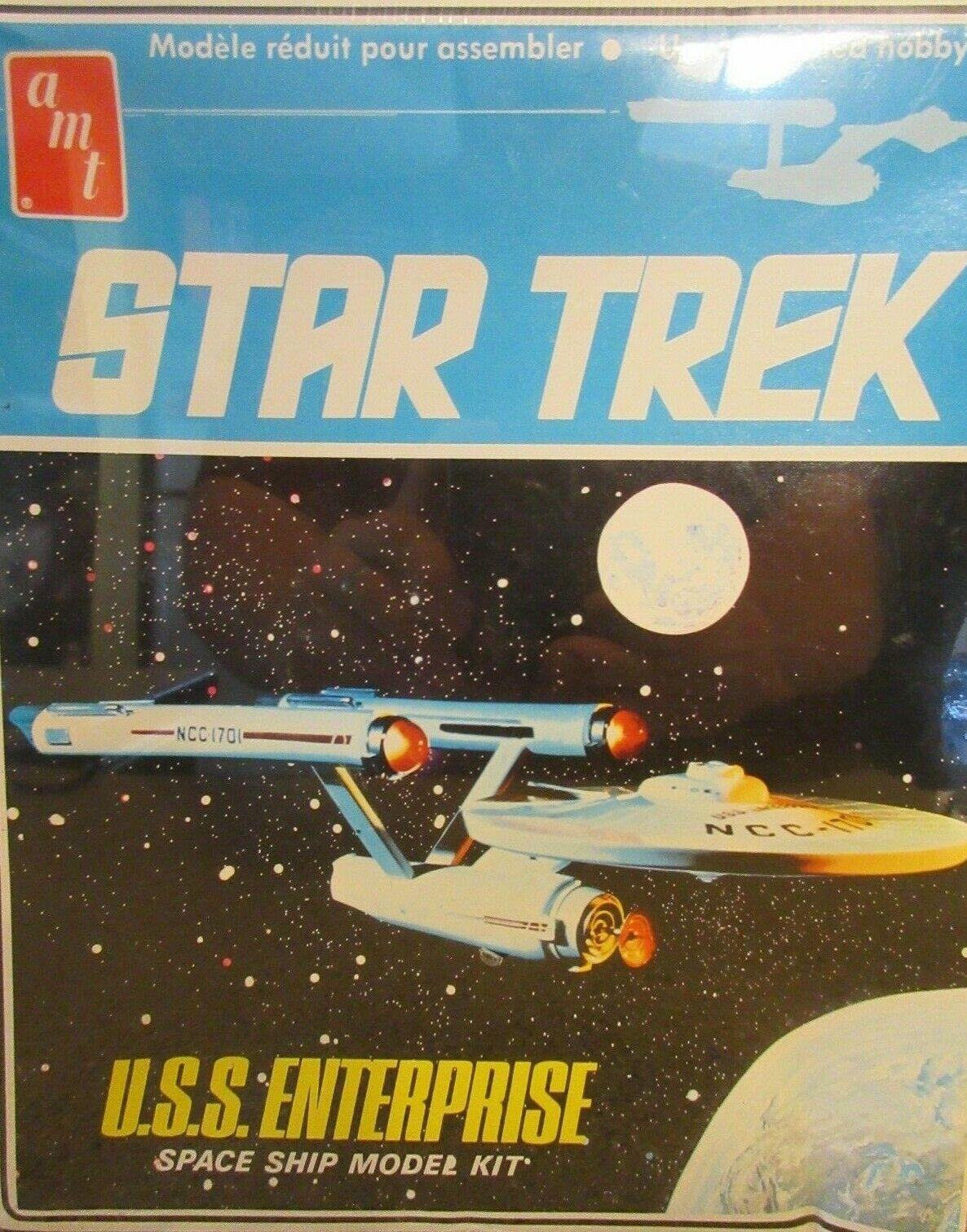 1983 stjärna Trek U.S.S. ENTERPRISE modelllllerler Kit NIB   Sealed