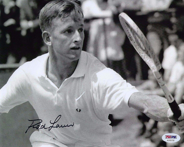Rod Laver Signed 8x10 Photo *Tennis PSA AC60700