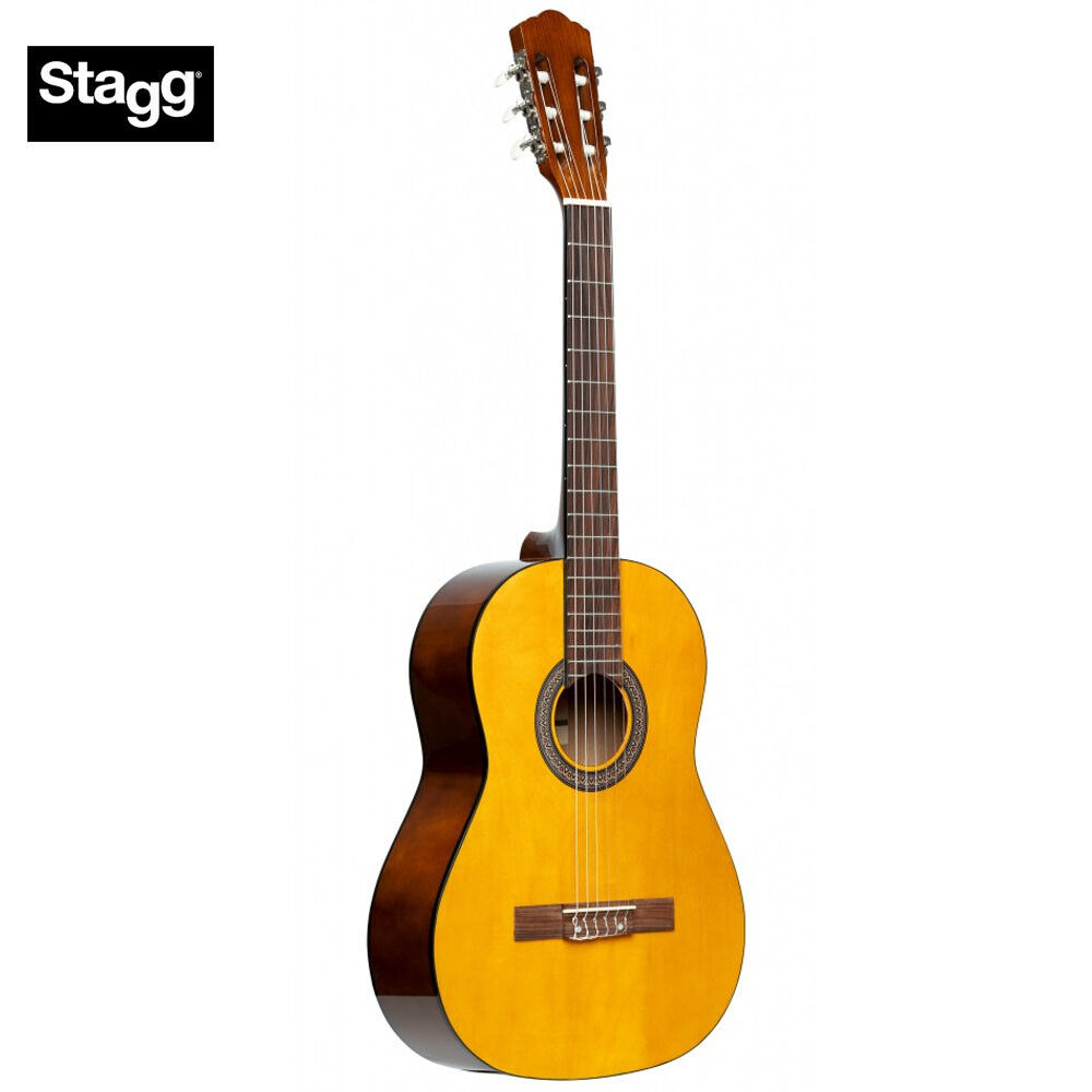 NEW Stagg SCL50 1 2-NAT Größe Student Nylon Classical Acoustic Guitar - Natural