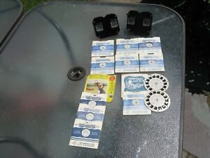 Two-Vintage-Sawers-View-master-039-s-with-12-Reels