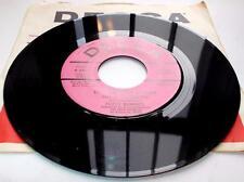 Fuzzy Bunnies The Sun Ain't Gonna Shine Anymore 1968 Decca Rock Promo 45rpm NM
