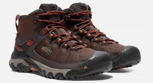 D EU 47 Men/'s WP Hiking Boots Mulch 1017718 Keen Targhee EXP Mid Top Size 13 M