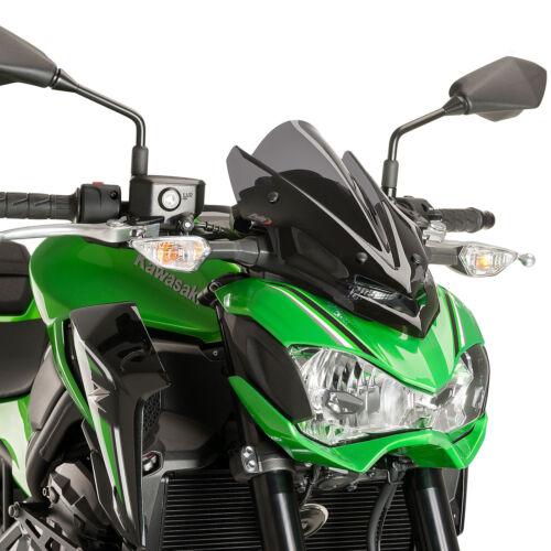 Kawasaki  Z 900 2017-2018 Puig New Generation Sport Fly Screen Dark Tint Z900