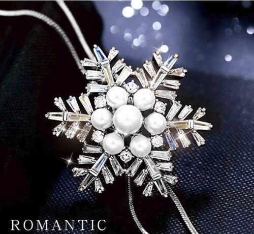 Anhänger Silber lang Geschenk Kette 80cm M11 Damen Halskette Schmuck Collier
