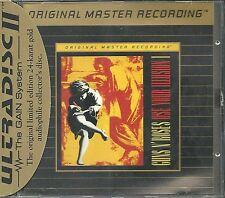 Guns n`Roses Use Your Illusion I MFSL Gold CD Neu OVP Sealed UDCD 711