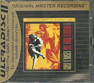 Guns-n-Roses-Use-Your-Illusion-I-MFSL-Gold-CD-Neu-OVP-Sealed-UDCD-711